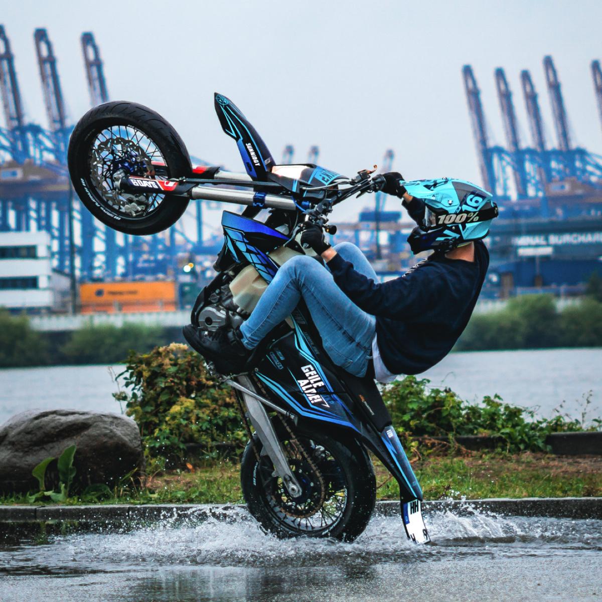 Motorrad 3d